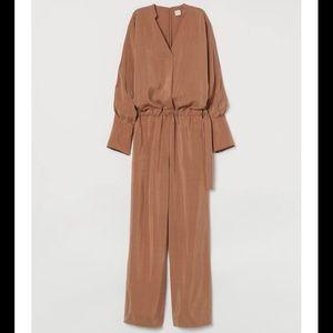 Camel H&M Jumpsuit
